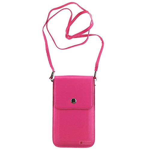 Ancerson Neu Einfach Stilvolle Damen Stil Magnetverschluss Brieftasche Geldbörse Portemonnaie PU Leder Schutzhüllen Handytasche Tasche Rucksack für Handy Smartphones Z.B Apple iPhone 6, Samsung Galaxy S4 I9500 / S5 I9600 / S3 I9300 /Grand 2 / Note 2 N7100 /Note 3 N9000 , LG G3 D855/ LG G2 / LG Optimus G Pro E980 F240 E986 F240k, Nokia Lumia 930, Sony Xperia Z L36h / Z1 L39h / Z1S / Z2 D6503/ Z3/ M2 /T3, HTC One X/M7/ M8 /HTC Desire 816, Huawei Ascend P6/P7 (4.7-5.7 Zoll Handy) und Andere Geeigne