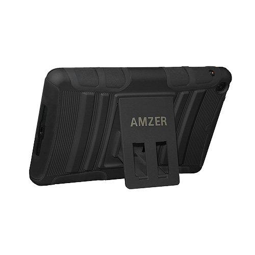 Imagen de Amzer Caso híbrido pata de cabra para Apple iPad Mini - Negro / Negro (AMZ95169)