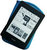 """Dussel Blue Cover For Kindle Paperwhite, Kindle Touch, Newest 2012 Kindle : Neoprene Slip Case / Sleeve For All 6"""" Non-Keyboard Kindle Models"""