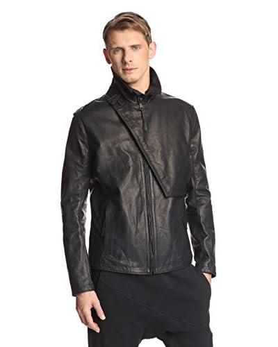 Alexandre Plokhov Men's Leather Blouson