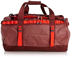 The North Face Base Camp Duffel Bag - Cherry Stain Brown/Fiery Red, Medium