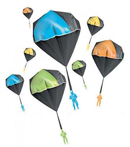 Aeromax 2000 Glow Parachute Yellow (Glow In The Dark Toy Parachute)
