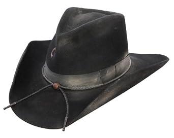 Charlie 1 Horse Men's Dusty Desperado 3X Wool Cowboy Hat Black 6 3/4