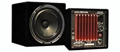 Avantone Audio Active MixCubes - Gloss Black/Pair by Avantone Audio