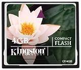 Kingston Technology CF/4GB - Kingston Standard CompactFlash 4GB Memory Card
