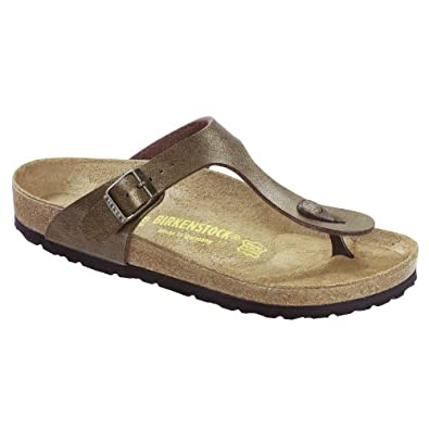 Birkenstock Gizeh Ladies / Womens Sandals (35 EUR) (Golden Brown)