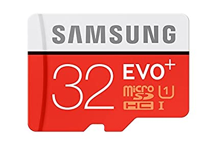 Samsung Evo Plus MB-MC32D 32GB MicroSDHC Class 10 (80MB/s) Memory Card (With Adapter)