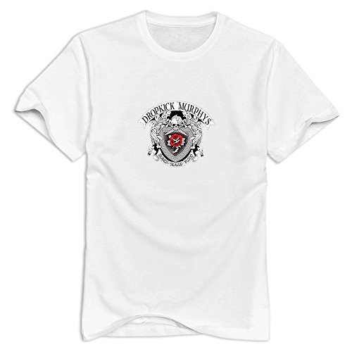HIPI GOX Nolysg Dropkick Murphys Band T-shirt For Men Cool O-Neck T Shirts For Guys