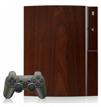 Maple Wood Grain Pattern Skin for Sony Playstation 3 Console