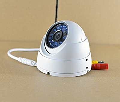 SmoTaK HD-CVI 2.0MP Dome Security Camera 1080P Outdoor 24 IR LEDs Day Night 3.6MM Lens Wide Angle View Video Surveillance