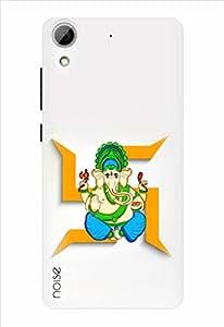 Noise Designer Printed Case / Cover for HTC Desire 626G Plus / Festivals & Occasions / Ganesha In Swastika Design