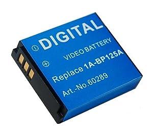 Batterie IA-BP125A pour Samsung HMX-M20 / HMX-Q10 / HMX-T1
