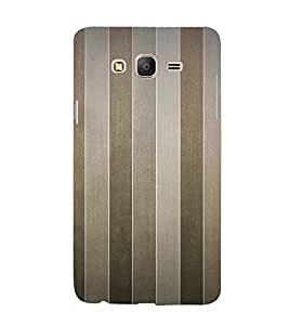 Brown Line Pattern 3D Hard Polycarbonate Designer Back Case Cover for Samsung Galaxy On5 Pro :: Samsung Galaxy ON 5 Pro