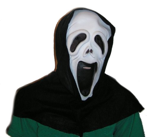 Pained Ghost of Horrors Mask - 1