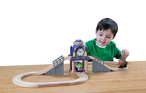 Chuggington Wooden Railway Koko & Hodge's Clock Tower Set