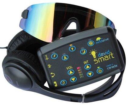 DAVID SMART | Light and Sound Device | MInd Alive's