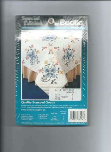 Bucilla Special Edition Quilt Blocks--Butterfly--#63128