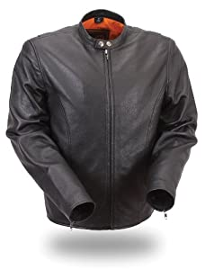 First Manufacturing Black XXX-Large Mens Lightweight Summer Jacket by First Manufacturing