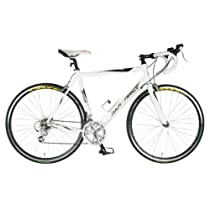 Tour De France Stage One Elite Bike (White/Black, 700C X 55 cm)