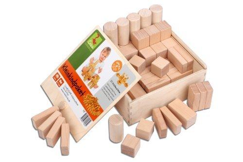 CreaBLOCKS Wooden Blocks Toddlers Package