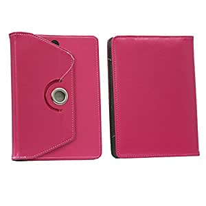 Jo Jo Rotating Flip Flap Case Cover Pouch Carry For Acer Iconia Tab A100 Pink