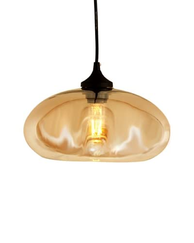 Control Brand The Bodo Tinted 1-Light Pendant, Brown