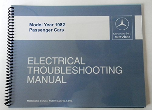 Mercedes Electrical Service Manual W107 380Sl 1982