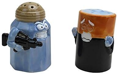 BigMouth Inc Assault/Battery Salt and Pepper Shakers