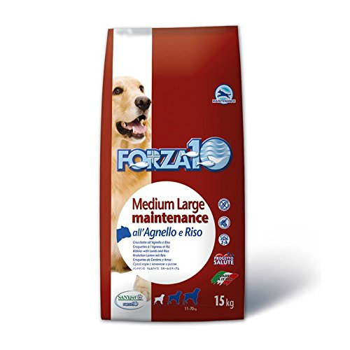 Forza 10 Crocchette Cane Maintenance Medium/Large Agnello e Riso 15 kg
