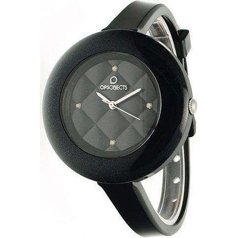 OPUS SYSTEMS OBJECTS OPSMATELASSÈ CRYSTAL WATCHES · Armbanduhr | Uhrarmband | Uhrband · schwarz silber