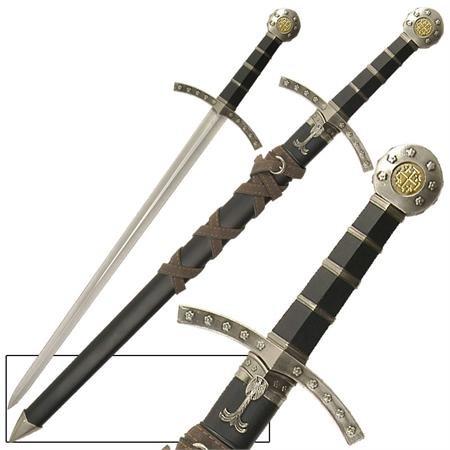 Crusader Knights Of Templar Short Sword Dagger
