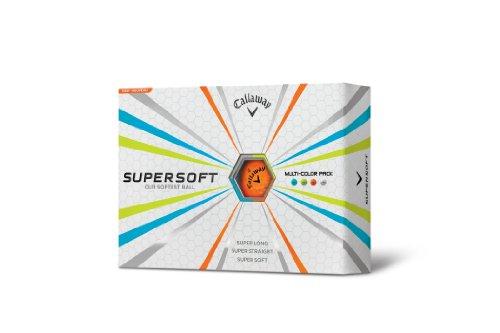 Callaway Super Soft Multi-Color Golf Balls