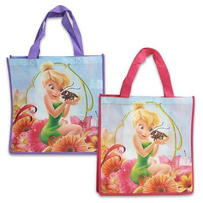 Disney Tinker Bell Non-woven Reusable Bag - 2 Pack