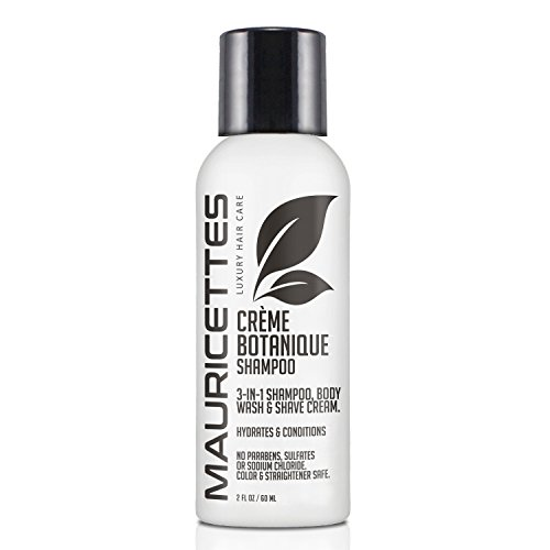 Mauricettes Créme Botanique 3-in-1 Shampoo 2oz Bottle Perfect For Travel Or Just To Try. Paraben Free, Sulfate Free, & Sodium Chloride Free (Blended Beauty Soy Cream Shampoo compare prices)