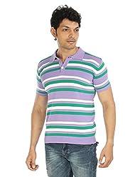 Silver Spring Purple Super Combed Cotton T Shirt _ RVD016_S