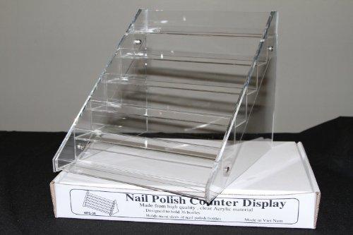 nail polish display Nail Polish Table Rack Display (Hold Up To 36 Bottles)