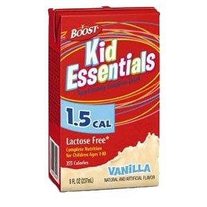 Boost Kid Essentials 1.5 Nutrition Vanilla Flavor 8 Oz. [Case Of 27]