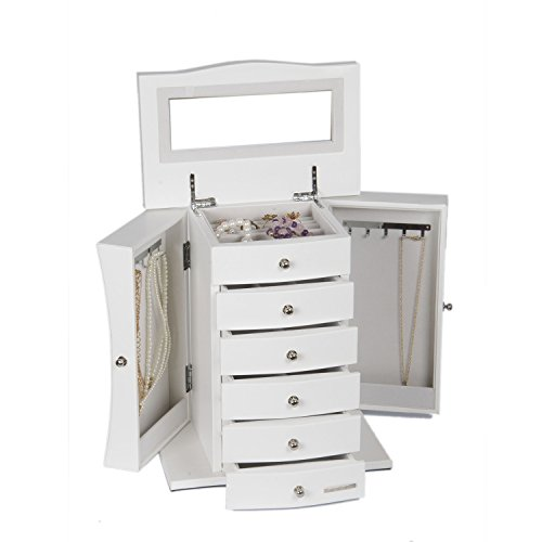 rowling-jewellery-armoires-jewellery-box-organizer-with-mirror-white