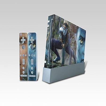 Avatar Wii Dual Colored Skin Sticker,0620-31