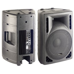 Stagg Sms15P Subwoofer With Electronic Cross-Over With 2 Independent Power Amplifiers