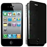 Privacy Anti-Spy Screen Guard Protector Shield Film For Apple iPhone 4 4S 4G
