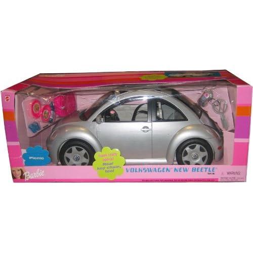 Amazon.com: Barbie SILVER VW Beetle Car - Volkswagen New