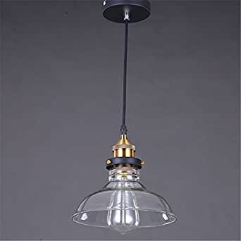 ffmode retro glass cover ceiling lamp pendant lighting. Black Bedroom Furniture Sets. Home Design Ideas