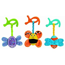Sassy Busy Bugs on Board Car Seat and Stroller Toy