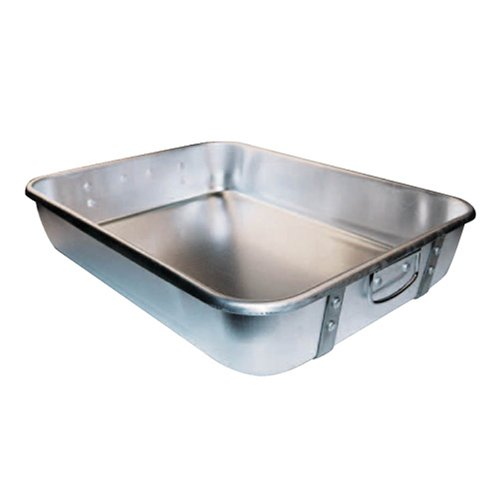 Winware Aluminum Roast Pan 18 Inch x 24 Inch x 4-1/2 Inch