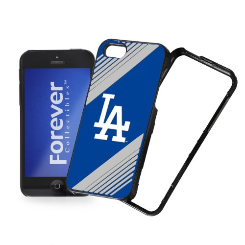 Forever Collectibles Iphnmbhrdsnp5Ld Los Angeles Dodgers Hard 2-Piece Snap-On Ai5 Cover - Retail Packaging