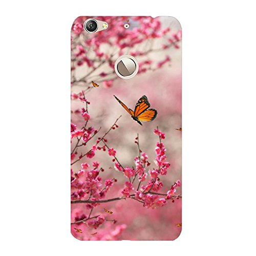 meet f57dd 3ca9c Clapcart Butterfly Design Printed Mobile Back Cover for LeTV Le 1S  -Multicolor