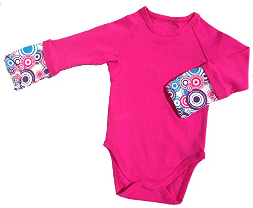 Scratch Me Not Organic Cotton Baby Girls Flip Mitten