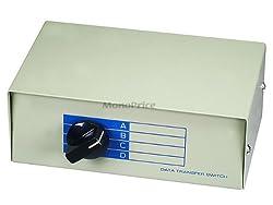 Monoprice 4-Port VGA Monitor Switch Box