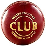 SA Sports Club Cricket Leather Ball - Pack Of 6 Balls